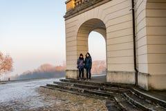 Solitude Castle in the near of Stuttgart, Germany in Winter. Solitude Castle in the near of Stuttgart, Germany, Winter Stock Photos