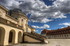 Solitude Castle Stuttgart Royalty Free Stock Photography