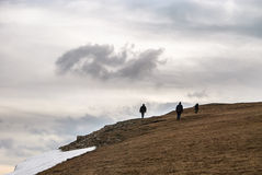 Solitude dans les Alpes photo libre de droits