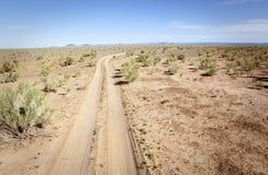 Solitude in the desert Royalty Free Stock Photos