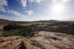 Solitude in the desert Stock Photo