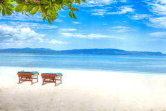 Solitude on  Indian Ocean Stock Images