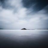 Solitude. An island of Shengsi Archipelago Stock Photo