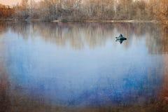 Solitude on the Lake Royalty Free Stock Photo