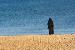 Solitude nun Royalty Free Stock Image