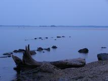 Solitude sur le Susquehanna Photographie stock libre de droits