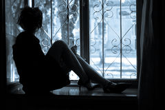 solitudine Immagine Stock