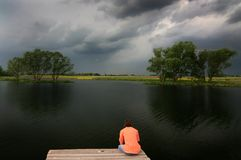 Solitudine Fotografie Stock Libere da Diritti