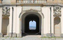 Solitudine del castello, Stuttgart, Germania Fotografia Stock Libera da Diritti