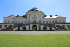 Solitudine del castello, Stuttgart, Germania Fotografie Stock Libere da Diritti