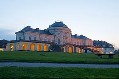 Solitudine di Schloss, Baden-Wuerttemberg Immagine Stock Libera da Diritti