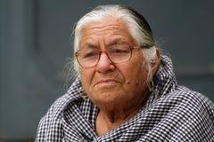 Solitudine di vecchiaia Immagini Stock Libere da Diritti