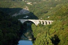 Solkan Bridge Stock Image