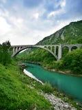 Solkan Bridge Royalty Free Stock Photos