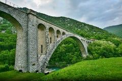Solkan Bridge Royalty Free Stock Image