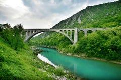 Solkan Bridge Stock Images