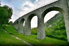 Solkan Bridge Royalty Free Stock Photography