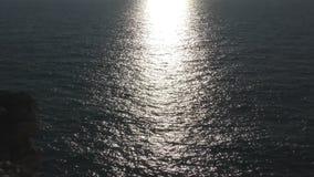 Solkatt i havet arkivfilmer
