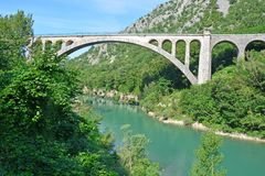 Solken Bridge Royalty Free Stock Image
