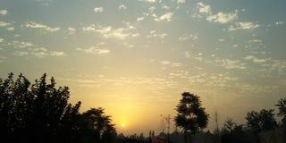 Sollöneförhöjningbild royaltyfria foton