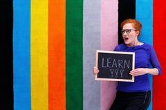 Sollecitazione dello studente da imparare fotografia stock libera da diritti