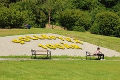 Sollefteå, cent ans images stock