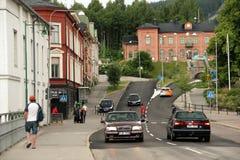 SollefteÃ¥, Västernorrland,瑞典 免版税库存图片