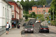 Sollefteå, Västernorrland, sweden imagens de stock royalty free