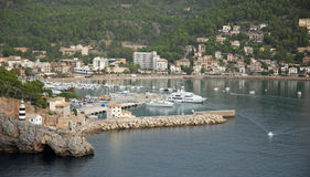 Soller Bay royalty free stock photography