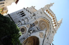 Soller Cathedral Royalty Free Stock Image