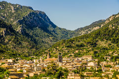 Soller in Mallorca Royalty Free Stock Photo