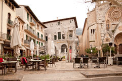 Soller square Royalty Free Stock Image