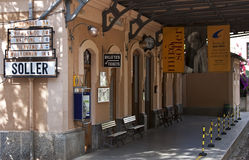 Soller station - RAW format Royalty Free Stock Photography
