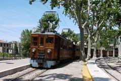 The Soller Train Royalty Free Stock Photos