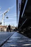 Soller train full of passengers Stock Image
