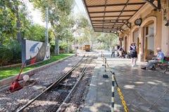 Soller train station Mallorca Stock Photo