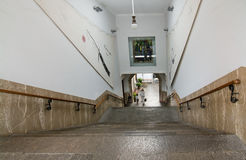 Soller train station Mallorca Stock Image