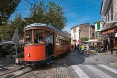 Soller tram Mallorca Stock Photography