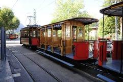 Soller tramwaj Zdjęcia Royalty Free