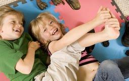 Solleticare! Fotografia Stock Libera da Diritti