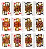 Solleva i re con il criccio 62x90 millimetro delle regine Immagine Stock Libera da Diritti