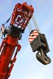 Sollevamento dell'impianto di perforazione Fotografia Stock Libera da Diritti