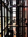 sollevi il modello della cima di vista della strada Fotografia Stock Libera da Diritti