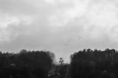 Sollevi l'allungamento nella nuvola Fotografia Stock Libera da Diritti
