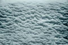 Sollievo bagnato della neve fotografia stock libera da diritti