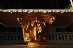 Sollievo dell'altare di Cristo Fotografia Stock