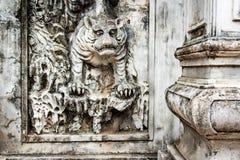 Sollievo della tigre a Hanoi Immagini Stock Libere da Diritti