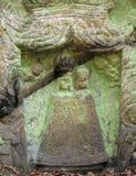 Sollievo della trinità santa - l'altare di pietra ha scolpito in arenaria cli Fotografia Stock