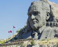 Sollievo di Ataturk Fotografie Stock Libere da Diritti