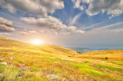 solljus Arkivfoto